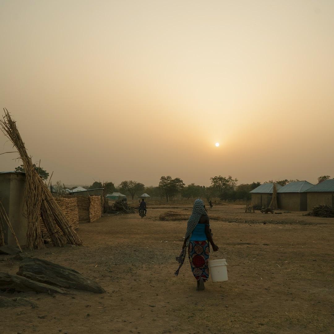 Gurku IDP Camp